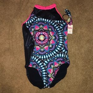 Justice Leotard with Hairband (never worn)